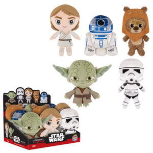 Star Wars Classic 8 Inch Galactic Plushies Wave 2 Case