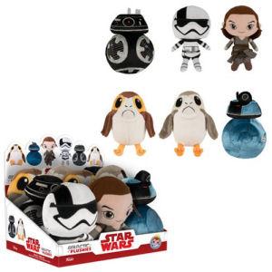 Star Wars The Last Jedi Galactic Plushies Display Case