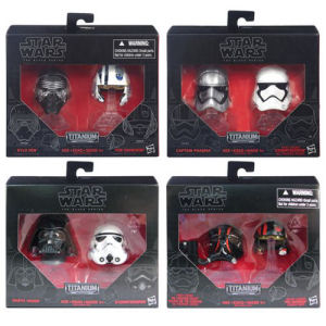 Star Wars Black Series Die-Cast Metal Helmets Wave 2 Case