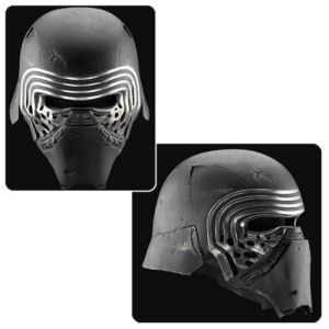 Star Wars The Force Awakens Kylo Ren Helmet Premier Line Accessory Prop Replica