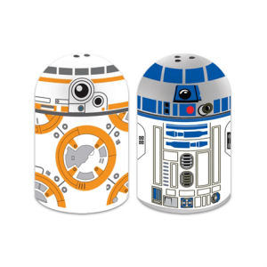 Star Wars BB-8 and R2-D2 Sculpted Salt and Pepper Set