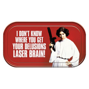 Star Wars Princess Leia Magnetic Mini Tin Sign