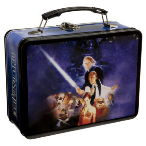 Star Wars Return of the Jedi Large Lunchbox Tin Tote