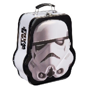Star Wars Stormtrooper Shaped Embossed Tin Tote