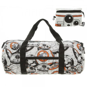 Star Wars The Force Awakens BB-8 Packable Duffle Bag