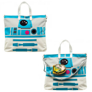 Star Wars R2-D2 Tote Bag with C-3PO Coin Pouch