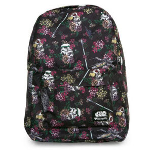 Star Wars Floral Stormtrooper Print Backpack
