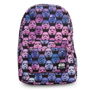 Star Wars Ombre Storm Trooper Head Print Backpack