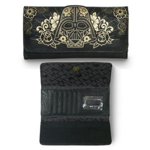 Star Wars Darth Vader Sugar Skull Trifold Wallet