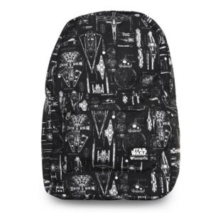Star Wars The Force Awakens Ship Blueprint Backpack