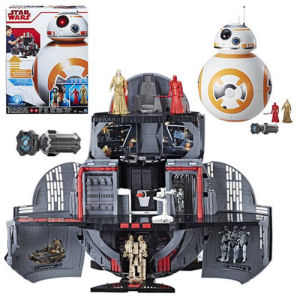 Star Wars The Last Jedi BB-8 2-In-1 Mega Playset with Force Link and Action Figures