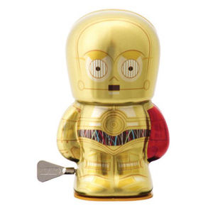 Star Wars The Force Awakens C-3PO 4 Inch Windup Bebot