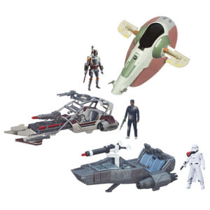 Star Wars The Force Awakens Class II Vehicles Wave 2 Case