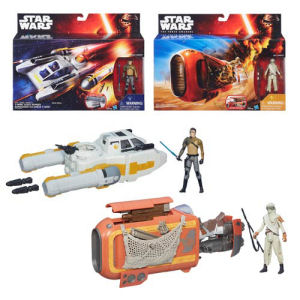 Star Wars The Force Awakens Deluxe Class I Vehicles Wave 1 Case