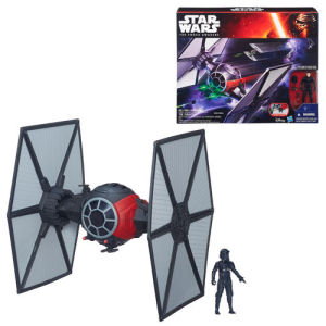 Star Wars The Force Awakens Class II Deluxe First Order TIE Fighter Vehicle
