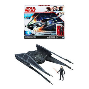 Star Wars The Last Jedi Kylo Ren TIE Silencer Vehicle with Kylo Ren Action Figure