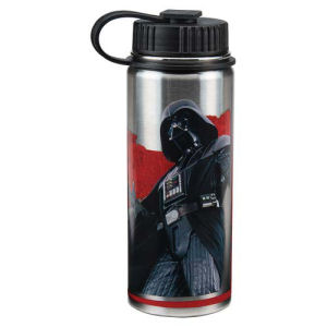Star Wars Dark Side 18 Ounce Vacuum Insulated Stainless Steel Water Bottle