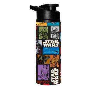 Star Wars Episode VII - The Force Awakens Grid 25 Ounce Stainless Steel Water Bottle
