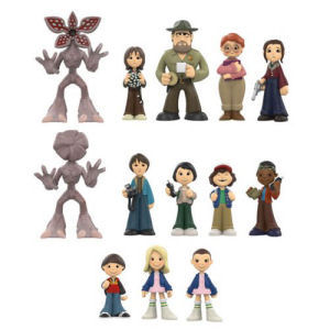 Stranger Things Mystery Minis Display Case. The display trays hold 12 figures. Each figure measures 2.5 inches tall.