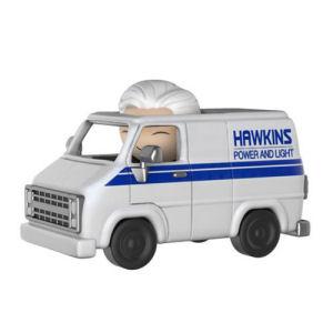 Stranger Things Brenner with Hawkins Utility Van Dorbz Ridez Figure