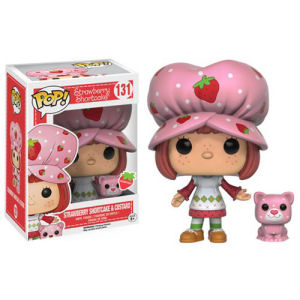 Strawberry Shortcake and Custard Scented Pop! Vinyl Figures