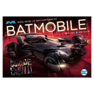 Suicide Squad Batmobile 1/25th Scale Model Kit