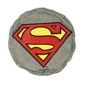 Superman Logo Stepping Stone