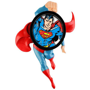 Superman 14 Inch Motion Clock