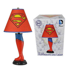 Superman DC Classic 20 Inch Leg Lamp