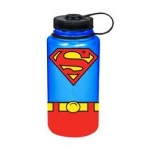 Superman Uniform 1 Liter Plastic Water Bottle