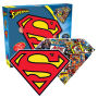 Superman Logo 2 Sided Shaped Puzzle.