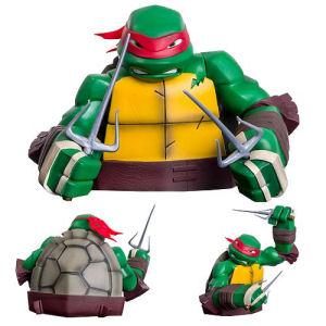 Teenage Mutant Ninja Turtles Raphael Bust Bank