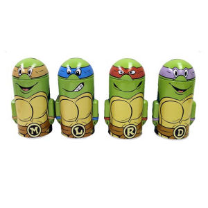 Teenage Mutant Ninja Turtles Domed Tin Bank Case
