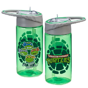 Teenage Mutant Ninja Turtles 14 Ounce Tritan Water Bottle