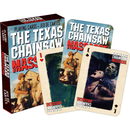Texas Chainsaw Massacre Playing Cards.
