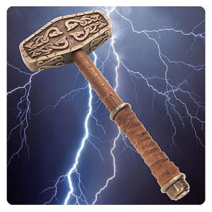 Historical Thor Hammer 18 Inch Replica