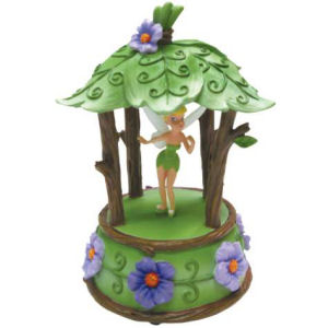 Westland Giftware Disney Life According to Tinkerbell Woodland Cabana Pixie Musical