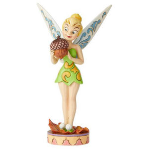 Disney Traditions Tinker Bell with Acorn Nuts for Fall by Jim Shore Statue
