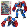 Transformers Platinum Edition Year Of The Monkey Optimus Primal.  Figure measures nearly 12 inches tall. Requires 3 AAA batteries that are not included. Demo batteries are included. Ages 8 and up.