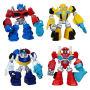 Transformers Rescue Bots Single Mini-Figures Wave 1 Rev. 1. Case includes 16 individually bagged figures - 5 EMEA OPTIMUS - 5 EMEA BUMBLEBEE - 3 EMEA HEATWAVE - 3 EMEA CHASE.