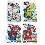 Transformers Rescue Bots Rescan Figures Wave 2. This case of 6 individually packaged Transformers toys includes - 2 Bumble Bee - 2 Blades - 1 Heatwave - 1 Optimus Prime.