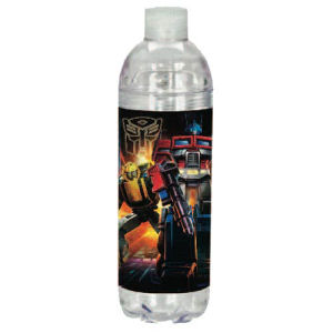 Transformers Acrylic Twist Top Water Bottle