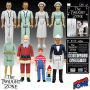 The Twilight Zone 3.75 Inch Figures Series 2 In Color Case. This Series 2 case includes 12 individually packaged action figures. From the show entitled Eye of the Beholder - 2 Doctor Bernardi in White - 2 Doctor Bernardi in Green - 1 nurse in white - one