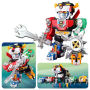 Voltron Altimite DX Transformable Action Figure. Fully transformable Voltron includes 5 transforming lions. Measures 7 inches tall by 5 inches wide by 3 inches long.