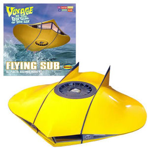 Voyage to the Bottom of the Sea Flying Sub 1/32nd Model Kit