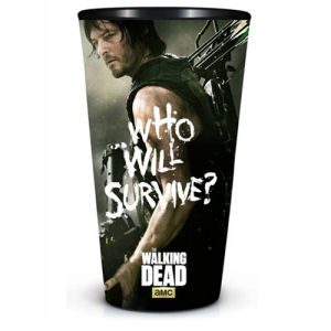 The Walking Dead Who Will Survive Pint Glass