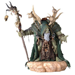 Warcraft Movie GulDan Statue