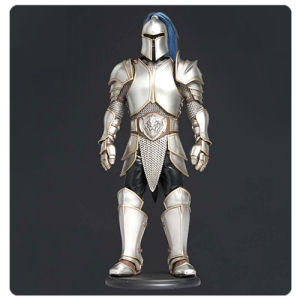 Warcraft Foot Soldier Armour 1/6th Scale Prop Replica
