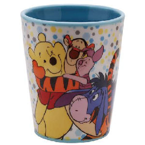 Disney Winnie the Pooh and Friends Best Friends 8 Ounce Tumbler