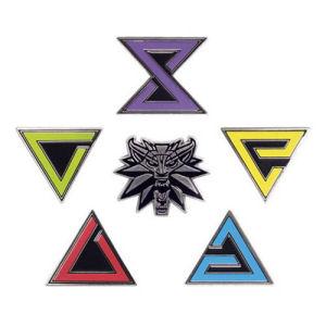 The Witcher 3 Wild Hunt Enamel Pin Set